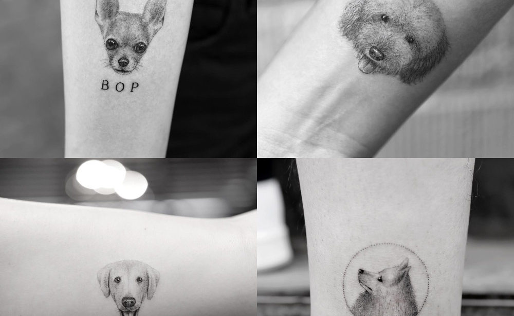 Pet portrait tattoos sanghyuk ko your london pet sitter for Free tattoos nyc 2017