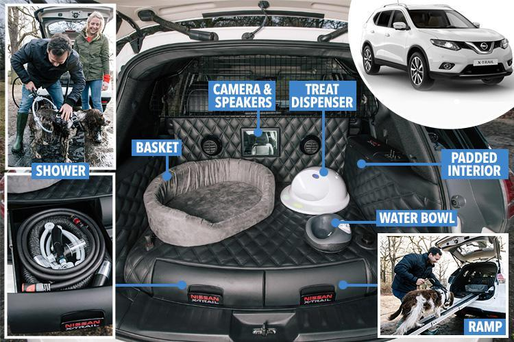 Build A Nissan >> Nissan X-Trail 4Dogs concept: the 'pawfect' car for family adventures - Your London Pet Sitter